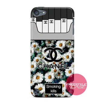 Chanel Coco Flower Smoking Kills iPod Case Cover