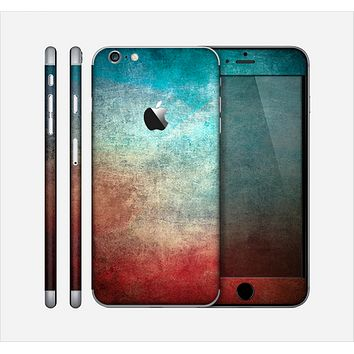 The Faded Grunge Color Surface Extract Skin for the Apple iPhone 6 Plus