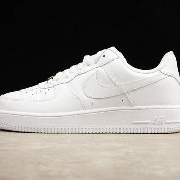DCCKU62 Originals Nike Air Force One 1 Low All White AF1 '07 315122-111