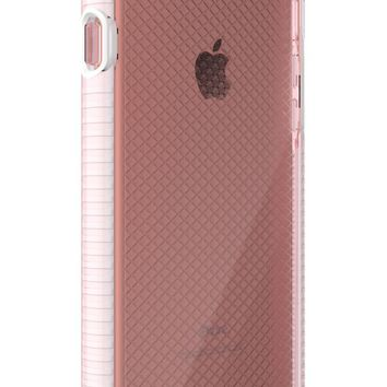 Evo Check Case for iPhone 7/8 - Rose Tint/White