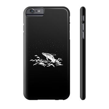 Flying whale Phone Case