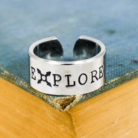 Explore - Hiking - Compass - Adjustable Aluminum Ring