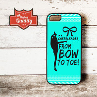 Cheerleader Bow To Toe Aztec Pattern iPhone 4 4S 5 5S 5S 6 Plus Samsung Galaxy S3 S4 S5 Note 3 Note 4 Case