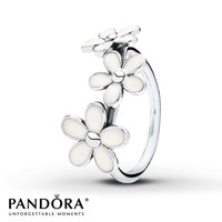 Pandora Ring Darling Daisies Sterling Silver