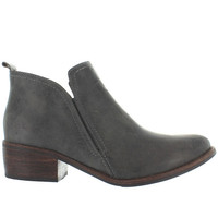 Matisse Courage - Charcoal Leather Pull-On Bootie