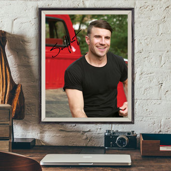 SAM HUNT Country Music Signed Photo Autograph (Pre-Print P2)