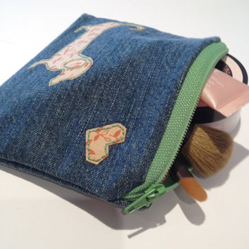 Zippered Dachshund (Wiener Dog) Coin Purse