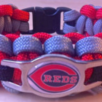 REDS MLB 550 Paracord Survival Band