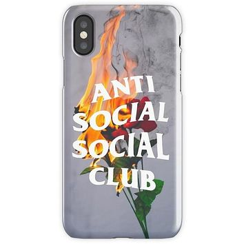 Anti Social Social Club Mobile Cover