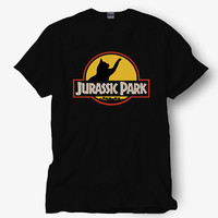 Jurassic park cats shirt parody of jurassic park , Hot product on USA, Funny Shirt, Colour Black White Gray Blue Red