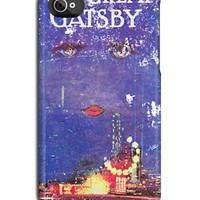 Great Gatsby Worn & Torn Book Cover iPhone Case by Look Human