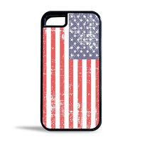 Grunge USA Flag Case for Apple iPhone 5/5s