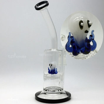 small Glass water pipes Cute Animal Funny Octopus Colorful Honeycomb Oil Rigs dab rigs oil rig heady beaker rigs oil