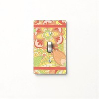 Hippie, Boho Style Light Switch Cover