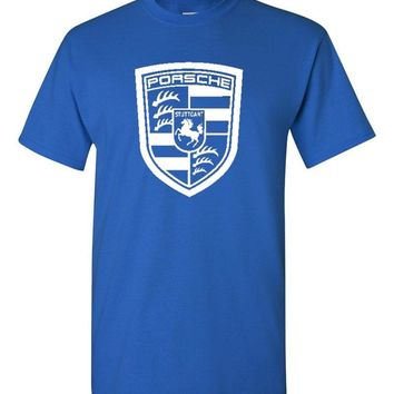 Porsche Royal Blue T-Shirt