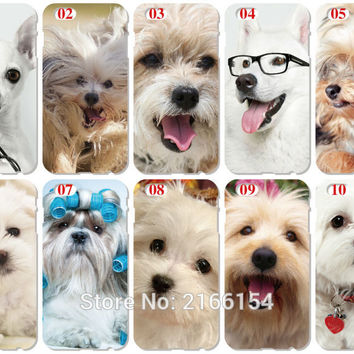 Pet dog Plastic Hard Cell Phone Cover For iphone 4 4S 5 5S SE 5C 6 6S Plus For iPod Touch 4 5 6 Mobile phone Case