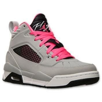 Girls' Grade School Jordan Flight 9.5 Basketball Shoes