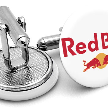 Red Bull Logo Cufflinks