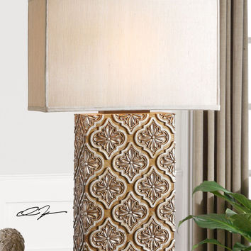 Curino Golden Bronze Table Lamp