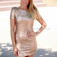 MAKE YOU MIND DRESS , DRESSES, TOPS, BOTTOMS, JACKETS & JUMPERS, ACCESSORIES, 50% OFF SALE, PRE ORDER, NEW ARRIVALS, PLAYSUIT, COLOUR, GIFT VOUCHER,,Sequin,Gold,BODYCON,SHORT SLEEVE Australia, Queensland, Brisbane