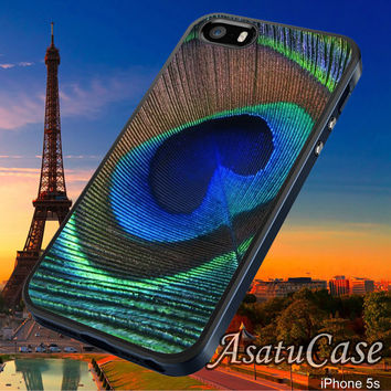 Peacock Feather - Samsung Galaxy S2/S3/S4,iPhone 4/4S,iPhone 5/5S,iPhone 5C,Rubber Case,Cell Phone,Case,Accessories - 030114/CA2
