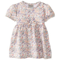 Wheat Infant Floral Print Casual Dress