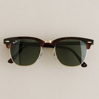 Men's accessories - necessary luxuries - Ray-Ban?- Clubmaster?- sunglasses - J.Crew