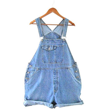 Plus Size Overall 3X Clothing Women Overall Denim Overall Shorts Denim Shortall Women Shortall Salopette Dungarees 90s Overall Over All Bib