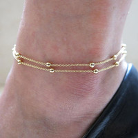 Shiny Awesome New Arrival Hot Sale Great Deal Gift Stylish Chain Anklet Accessory Bracelet [8527529031]