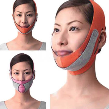 Health Care Thin Face Mask Slimming Facial Thin Masseter Double Chin Skin Care Thin Face Bandage Belt Free Shipping