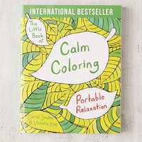 The Little Book Of Calm Coloring By David Sinden & Victoria Kay