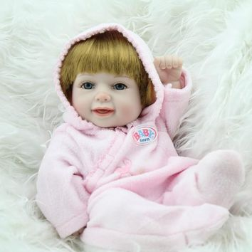 Silicone Baby - Reborn Full Body Doll - Mini 10 inches Doll