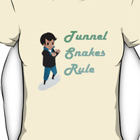 Tunnel Snakes Rule! Women's T-Shirt