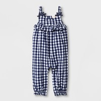 Baby Girls' Romper - Cat & Jack™ Navy
