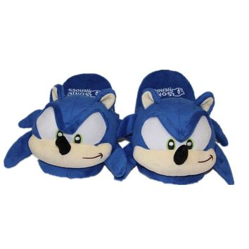 Sonic the Hedgehog Plush Toys Women Men Cartoon Plush Home Slippers Fashion Winter House Indoor Shoes Soft Toys Dolls
