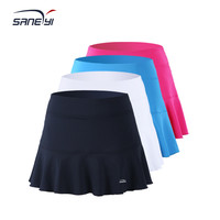 32e Women's Flounce Knit Pure Baseline Tennis Skirt/ Cheerleading Skirt/ Sports Skirt/ Skort