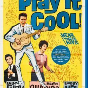 Play It Cool movie poster Sign 8in x 12in