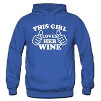 This Girl Loves Her Wine Hoodie