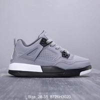 Air Jordan 4 Cool Grey Toddler Kid Shoes Child Sneakers - Best Deal Online