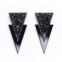 Black Apache Earrings