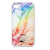 Apple iPhone 4 4G 4S / iPhone 5 5G / iPod Touch 5 Case Cover Crack The Back Mobile Phone Accessory