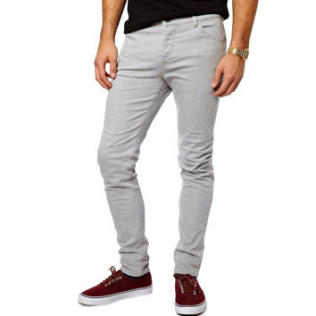 Mens Denim Slim Fit (Grey)