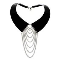 COLLARED NECKLACE SILVER | ZELIA HORSLEY JEWELLERY