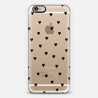 HEARTS transparent iPhone 6 case by KIND OF STYLE   Casetify