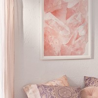 Honeymoon Hotel Love Quartz Art Print | Urban Outfitters