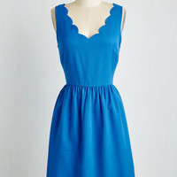 Mid-length Sleeveless A-line Reliably Blithe Dress