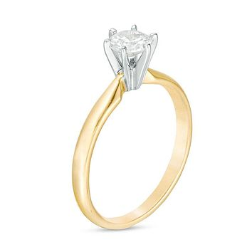 1/2 CT. Diamond Solitaire Engagement Ring in 14K Gold