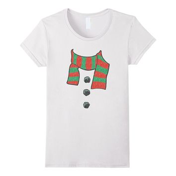 Ugly Snowman Costume Christmas T-Shirt