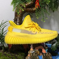 ADIDAS YEEZY 350 New Style Sneakers YELLOW Shoes