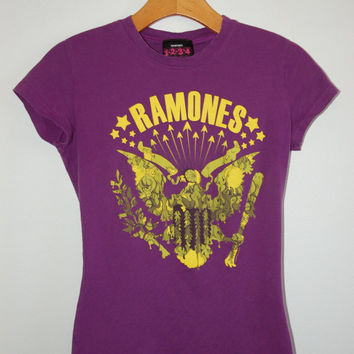 RAMONES shirt, vintage band t shirts, band tees, rock band t shirts